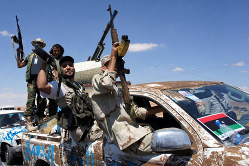 Battles between different Libyan militia have plunged the country into chaos since the collapse of the Gaddafi regime.