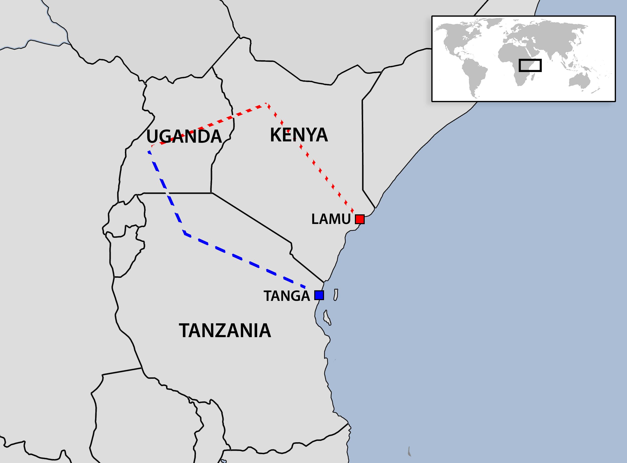 east african pipeline