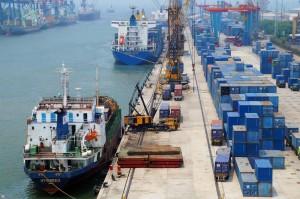 Jakarta's Port, Indonesia