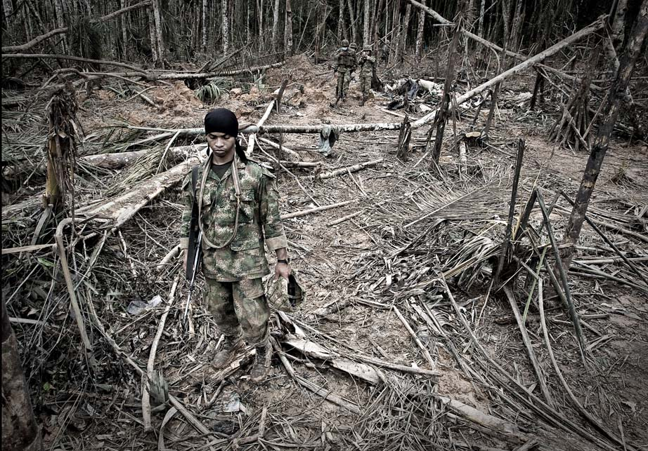 Task Force Omega hunts FARC commander Mono Jojoy (2009). Photo: Mauricio Morena