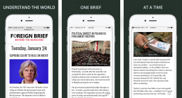 The Daily Brief – understand the world.