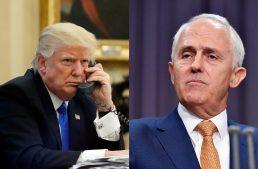 Winning over the president: Turnbull meets Trump