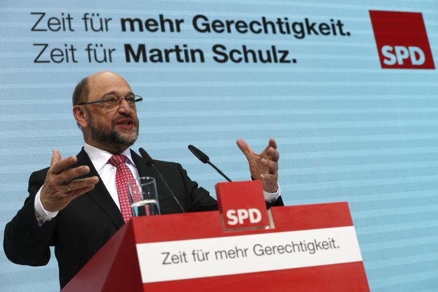 Martin Schulz puts federal European Union  at centre of election campaign