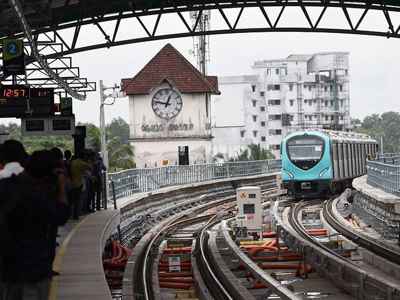 Photo: Kochi Metro
