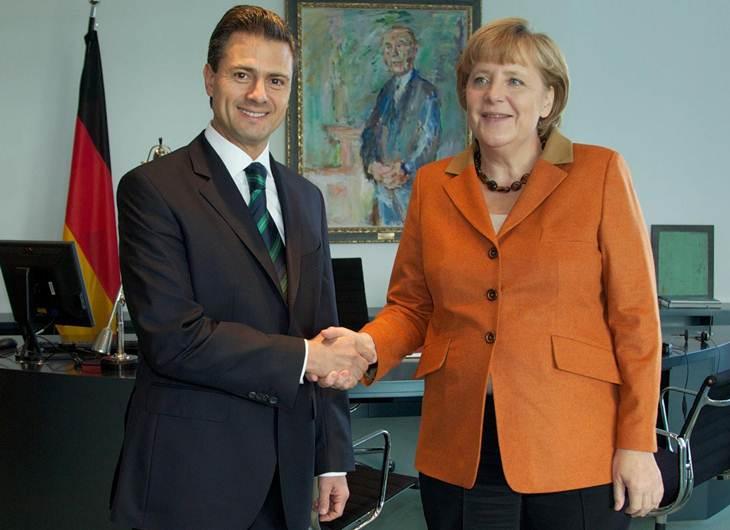 Merkel visits Mexico