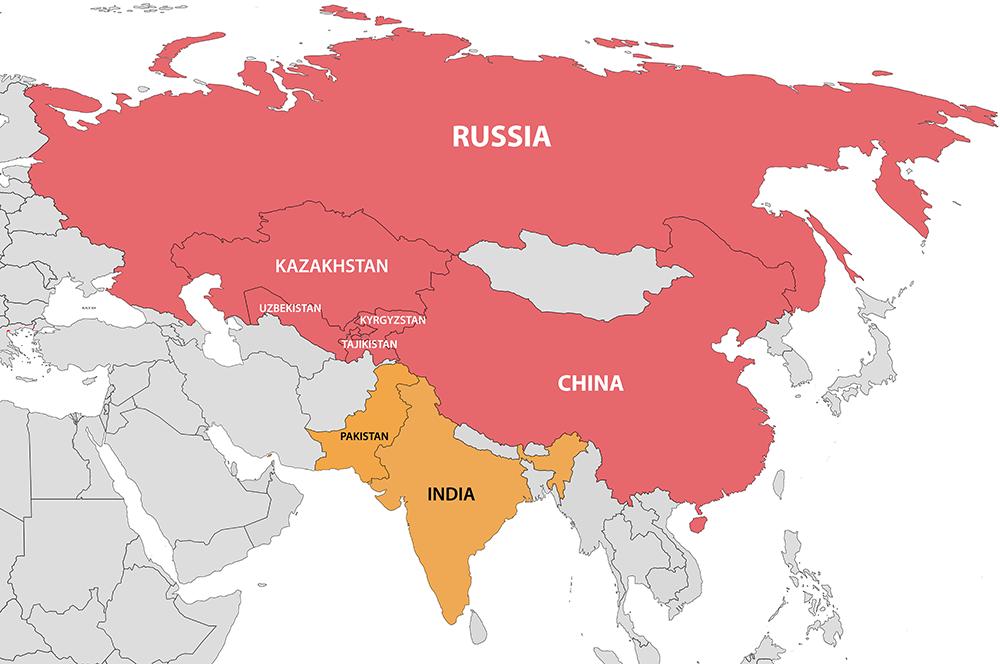 Modi leaves for Kazakhstan
