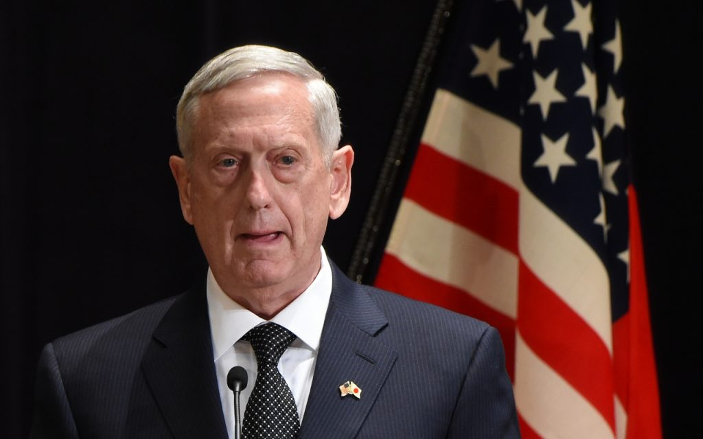 US committed to Asia-Pacific allies: Mattis