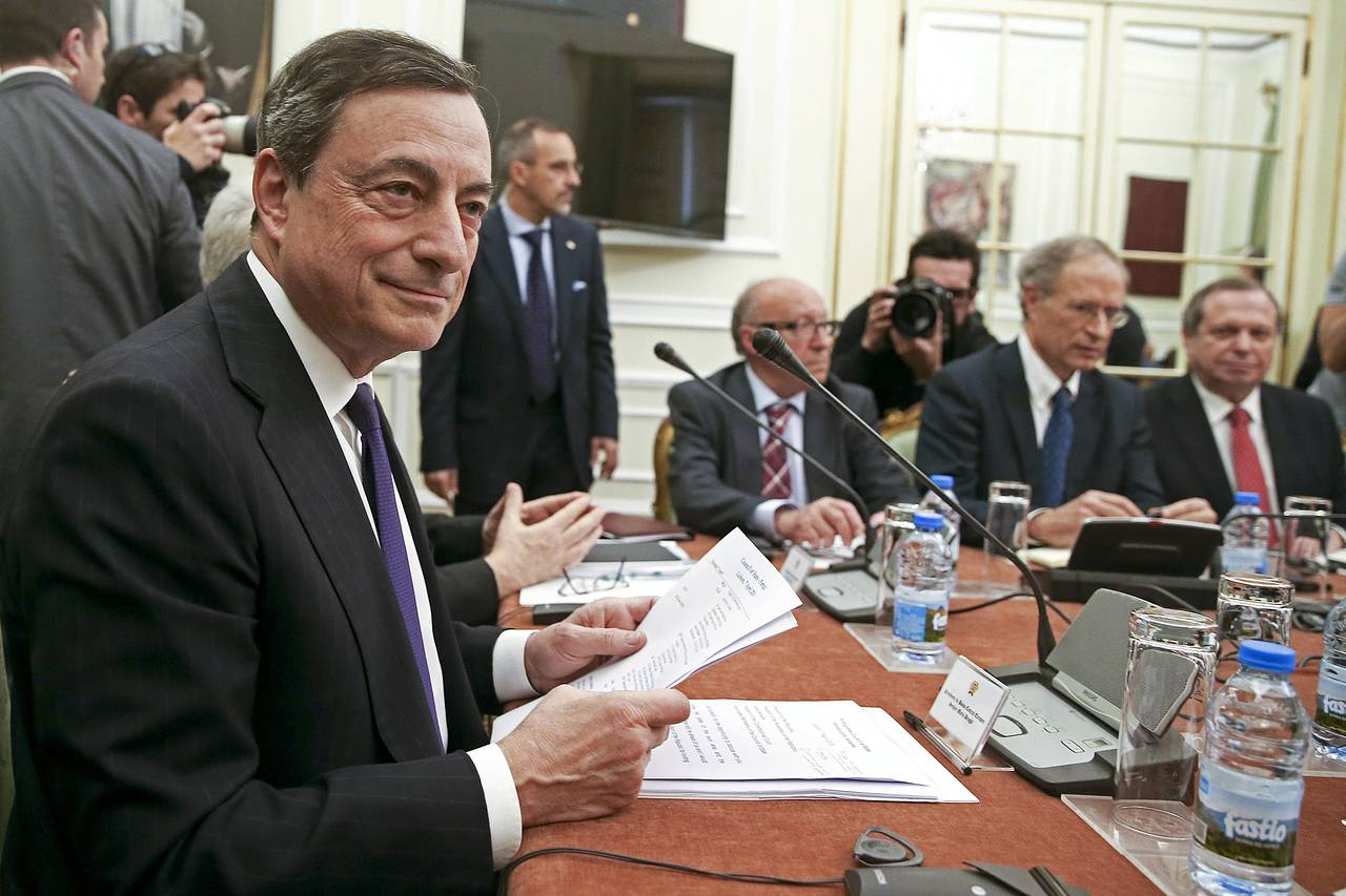 Mario Draghi faces taper test as European Central Bank meets