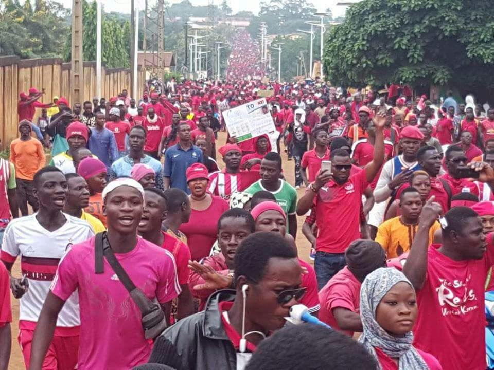 Opposition protests in Togo are calling for President Faure Gnassinbe to step down