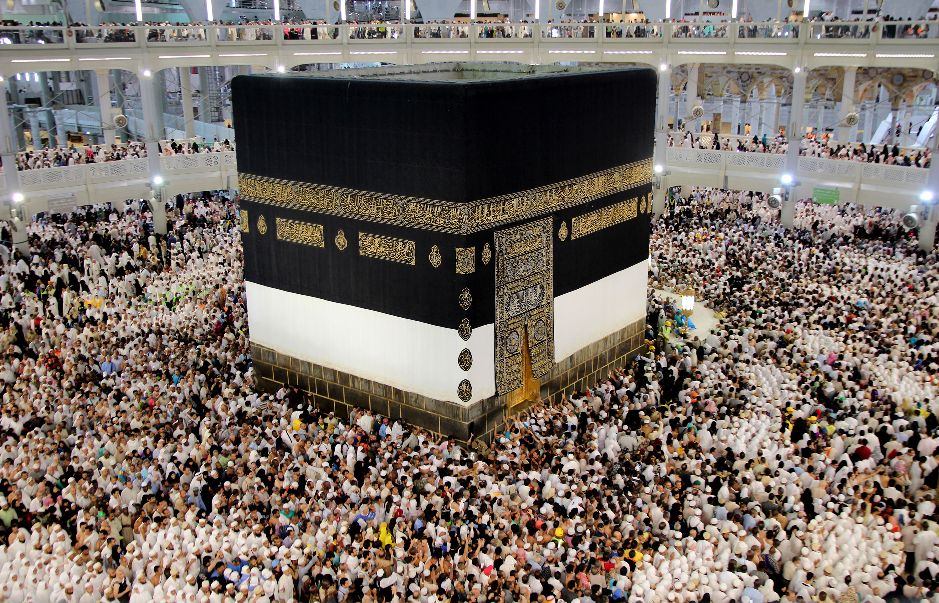 Pilgrims flock to Mecca each year for Hajj