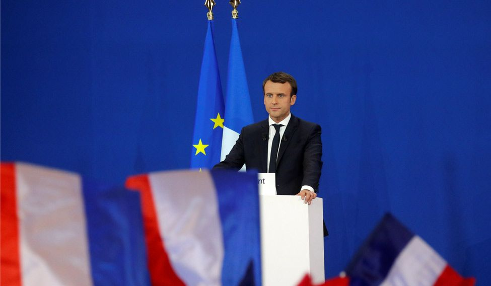French president Emmanuel Macron has loft ambitions to reform the EU