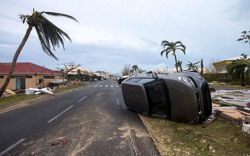 Hurricane Irma leaves destruction in its path in Saint Martin