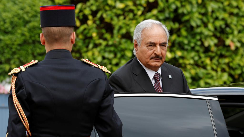 Libyan strongman General Khalifa Haftar will travel to Italy today