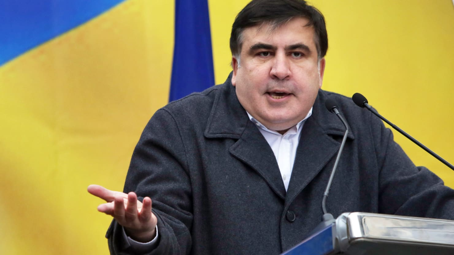 Mikheil Saakashvili will challenge his citizenship stripping in a Ukrainian district court today