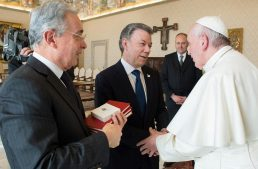 Holy Father to visit Colombia after helping secure peace with FARC, ELN