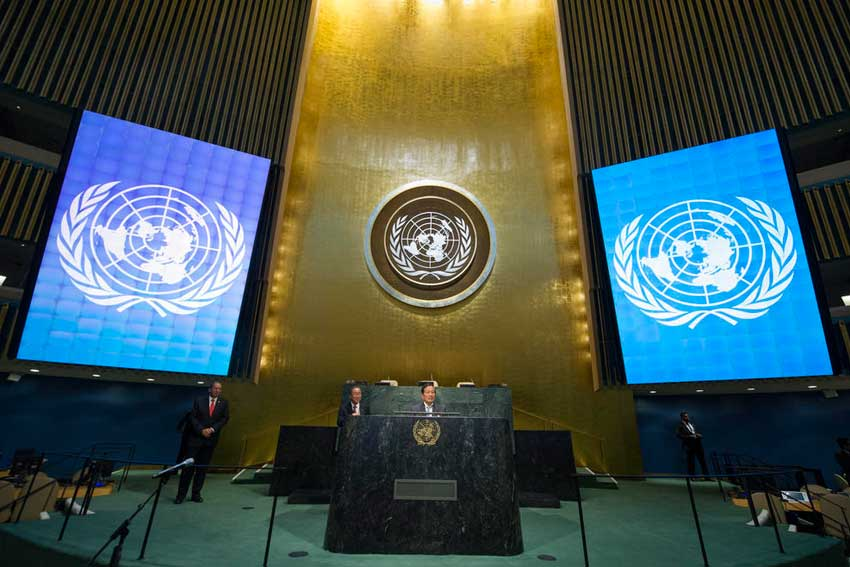 UN General Assembly bans nuclear weapons without North Atlantic Treaty Organisation  members support