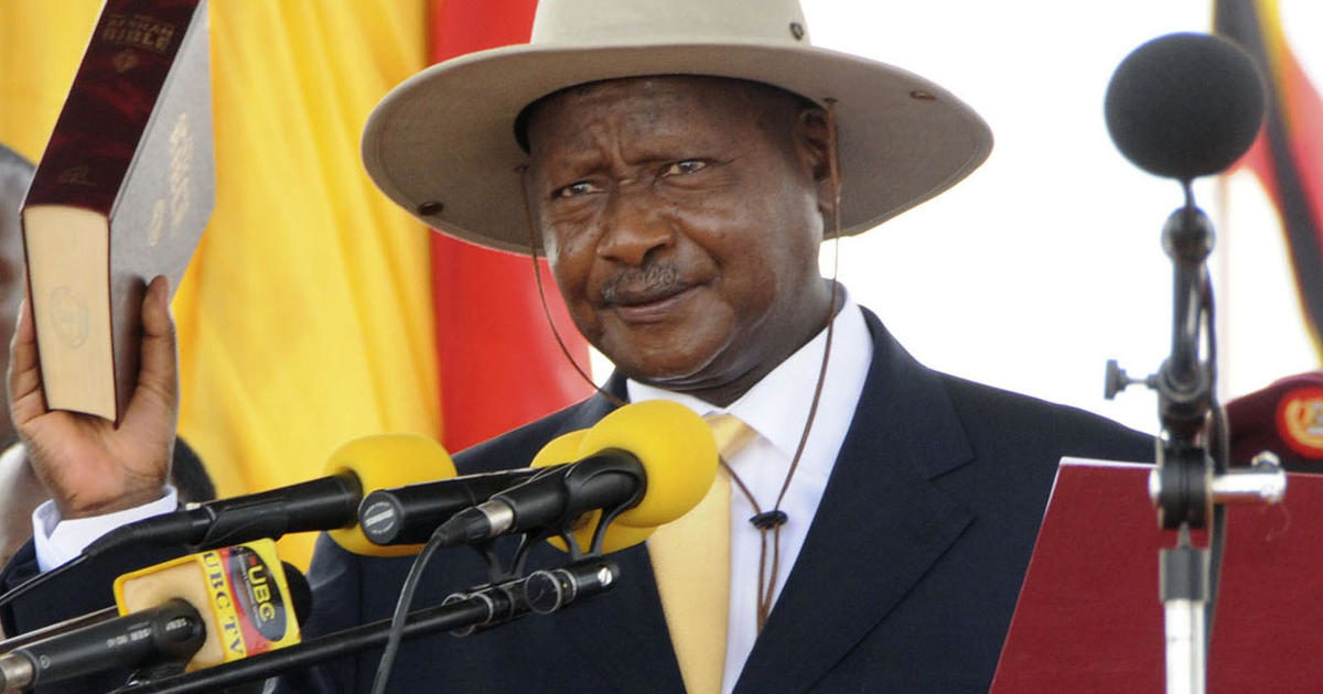 Uganda's president will be praying for a lifitng of an age cap