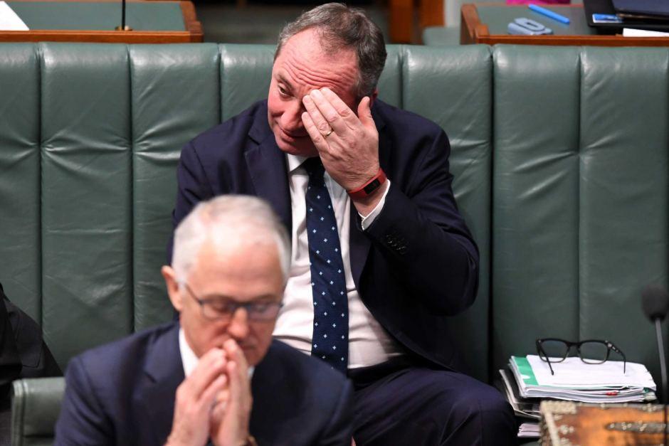 Australia's Deputy PM Barnaby Joyce