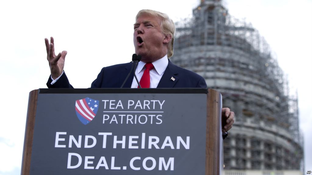 Donald Trump is expected to withold certification of the Iran deal