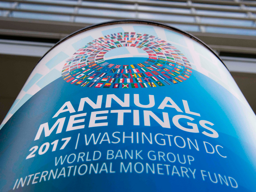 IMF and World Bank meet in Washington DC