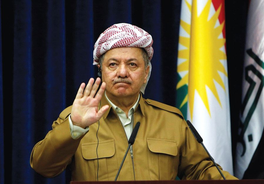 Iraqi Kurdistan's leader Masoud Barzani will step down