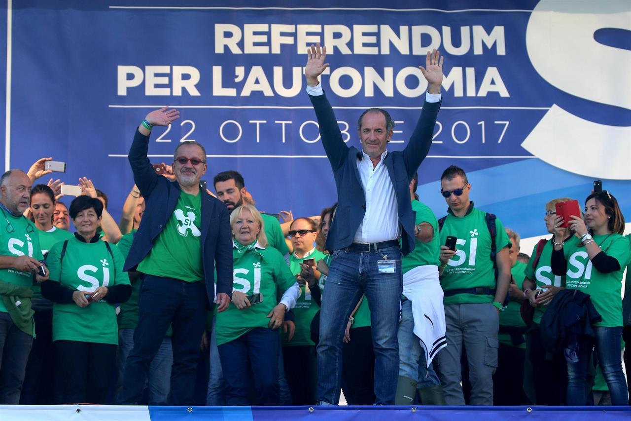 Lombardy Veneto autonomy vote