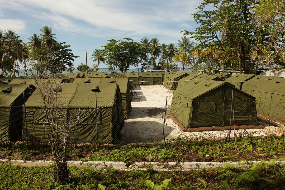 Manus Island closed