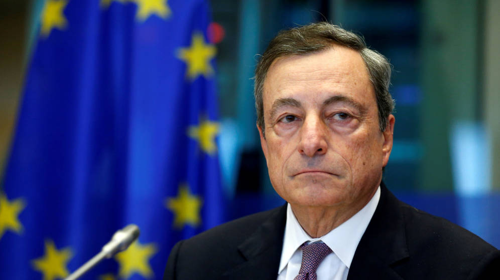 Mario Draghi to announce interest rate decision