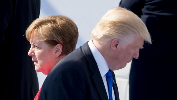 Merkel and Trump do not see eye to eye on the Iran deal