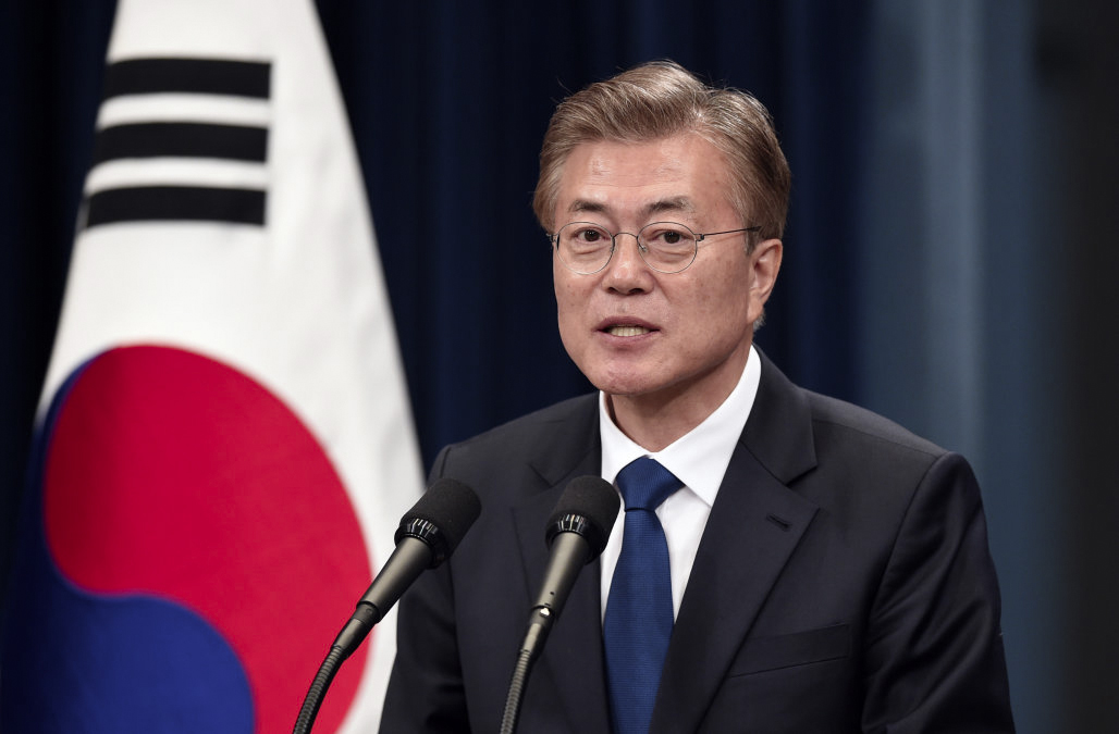 Moon Jae-in will deliver South Korea's state of the nation