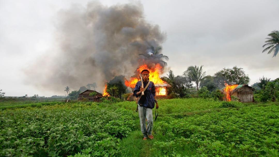 Myanmar conflict