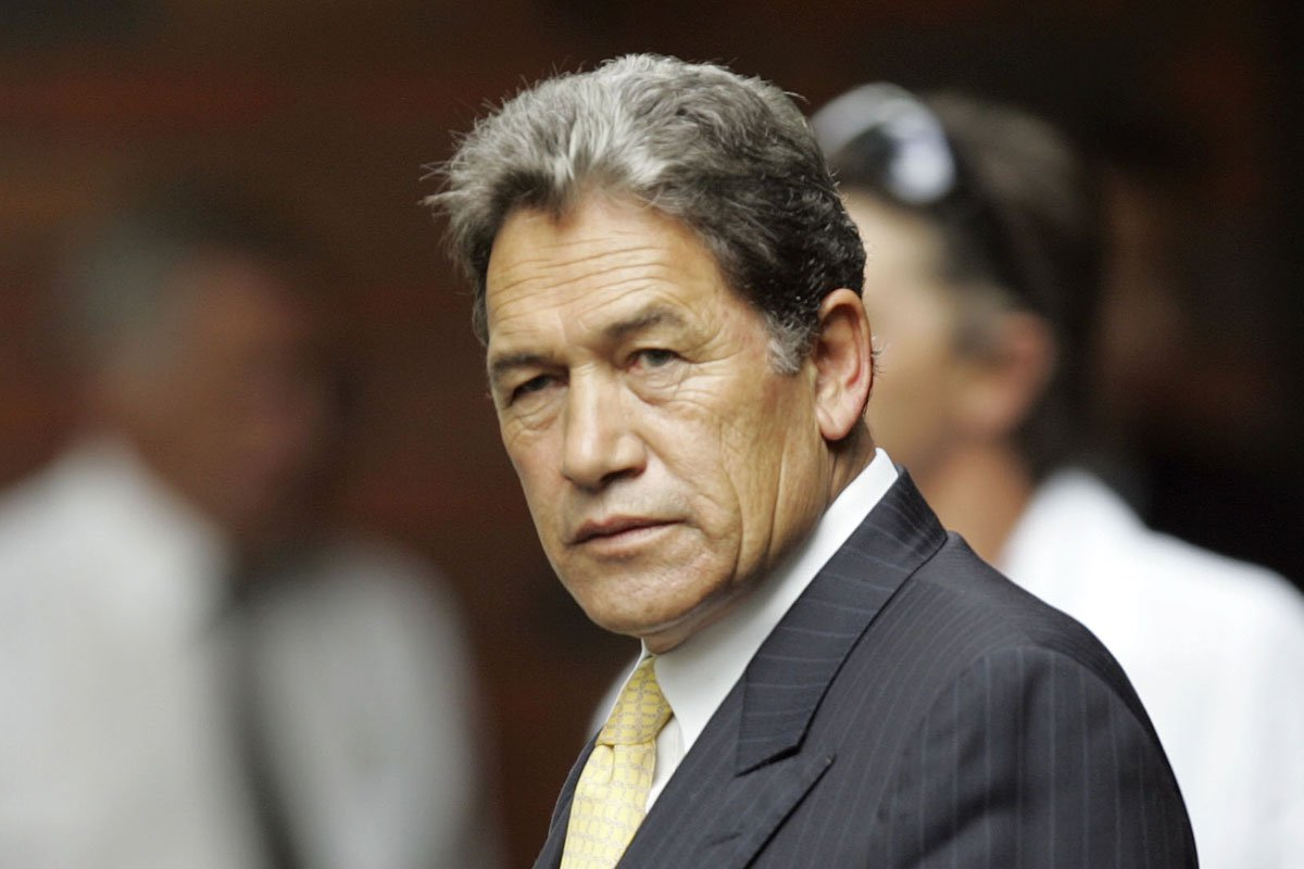 New Zealand First's Winston Peters