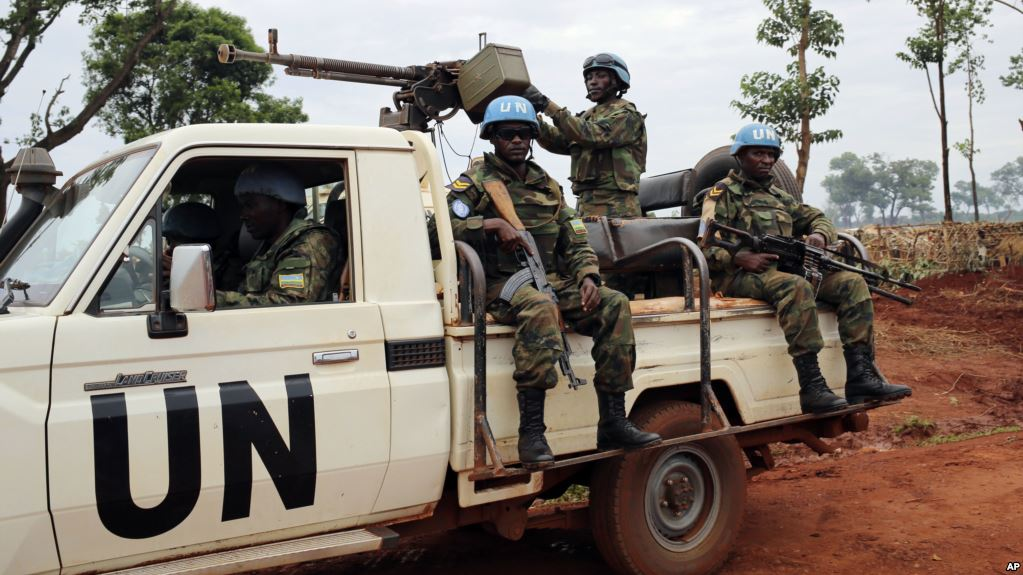 UN Peacekeepers in the Central African Republic