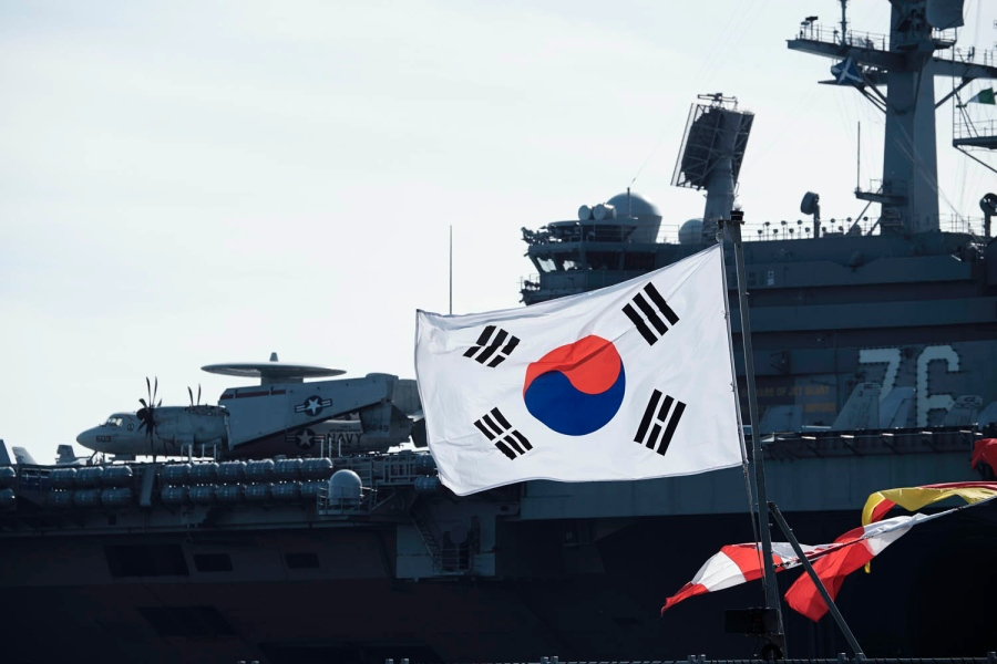 US-South Korea naval drills