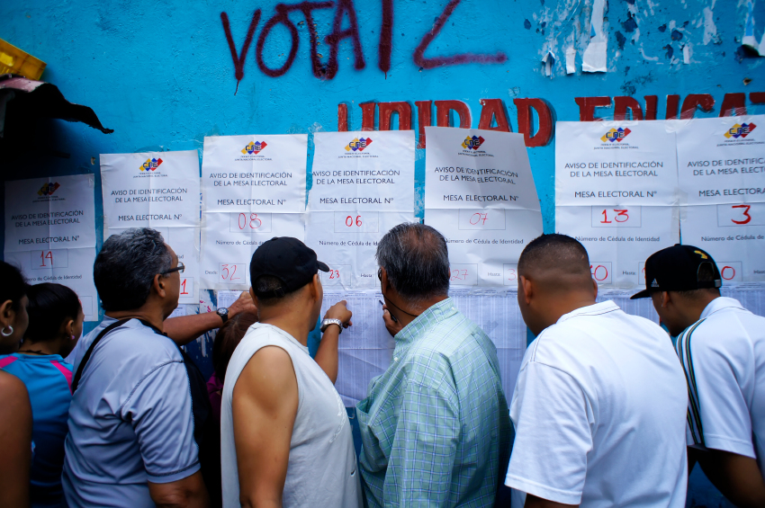Venezuelans vote in local elections on Sunday