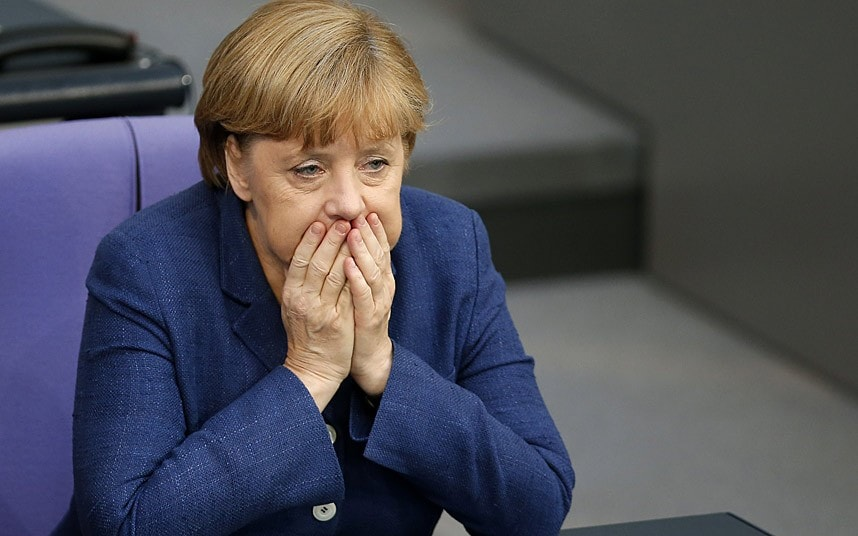 Angela Merkel coalition collapse