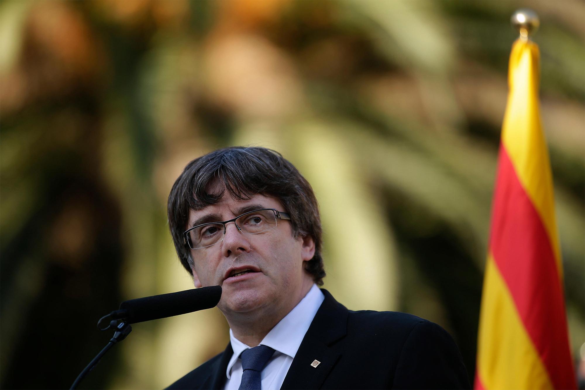 Carles Puigdemont Belgium