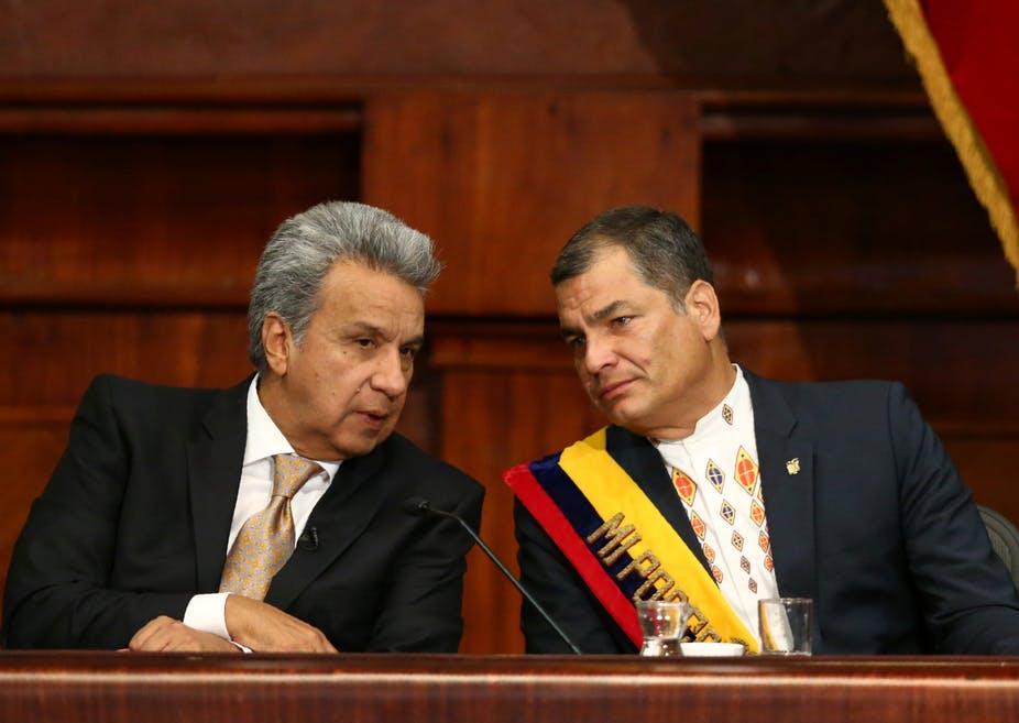 Ecuador_Rafael_Correa_Lenín_Moreno