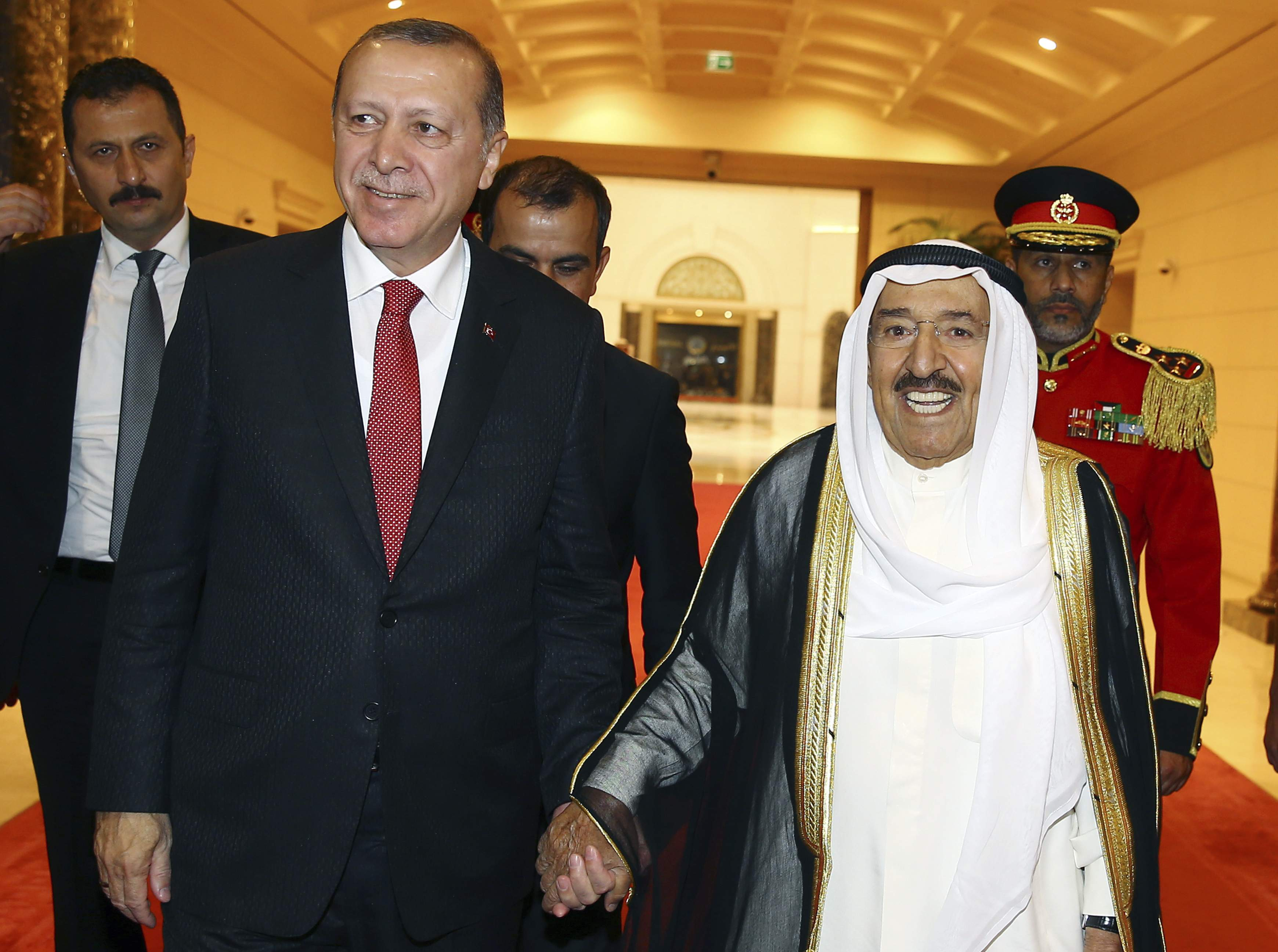 Erdogan king Kuwait