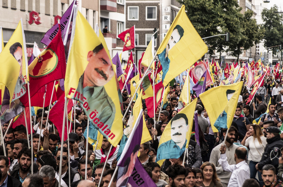 Pro-Kurdis rallies in Germany