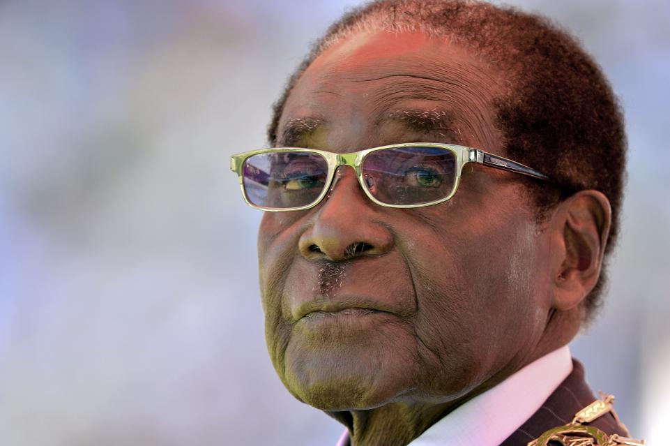 Robert Mugabe on the way out