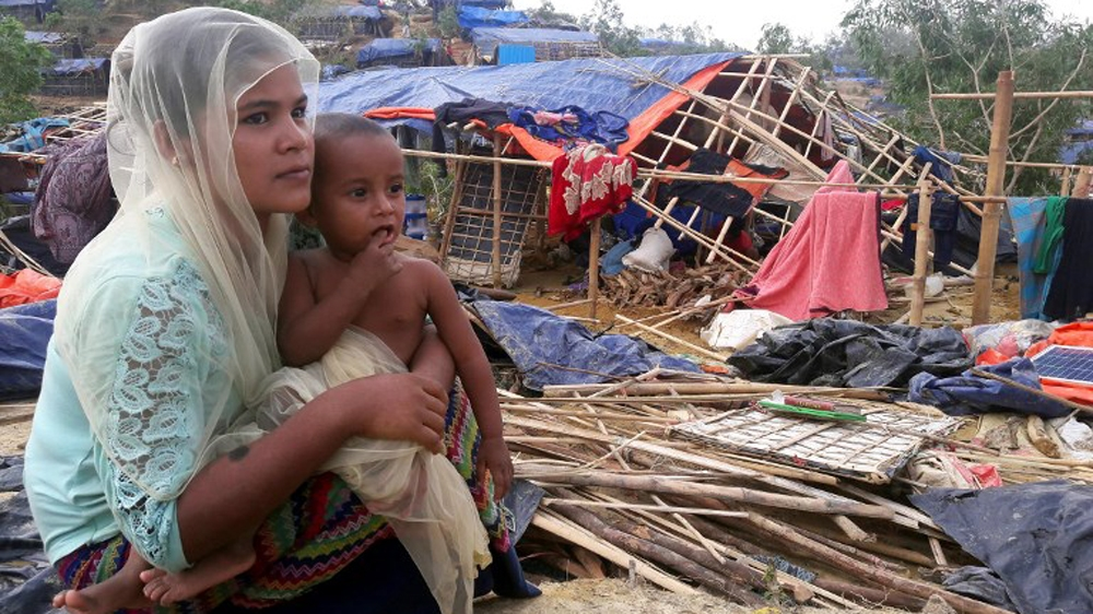 Rohingya camp in Bangladesh