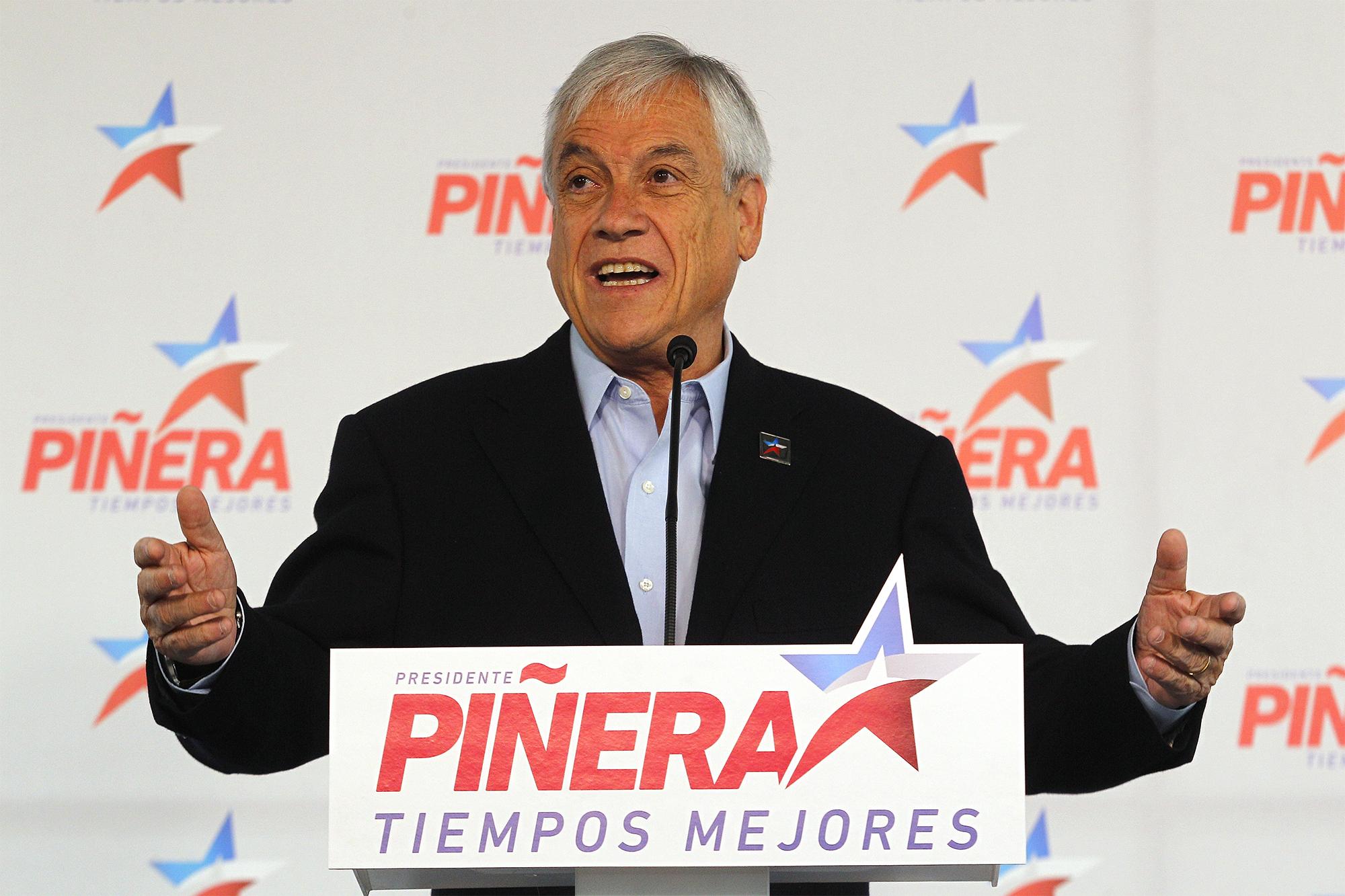 Sebastian Pinera Chile election