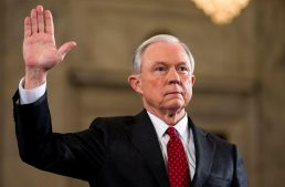 Attorney General Jeff Sessions fronts the House Intelligence Committee on Russia