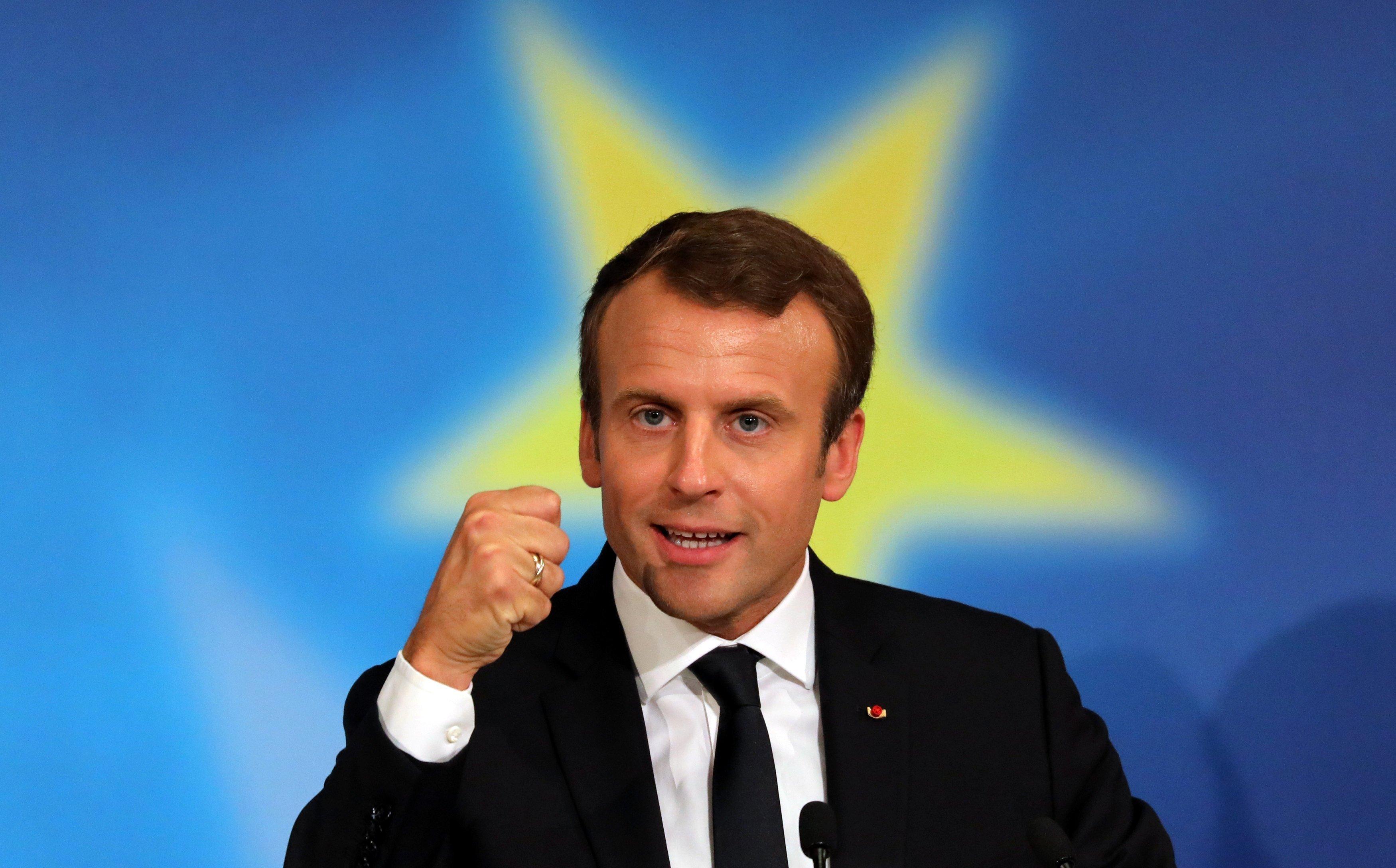 Macron European integration