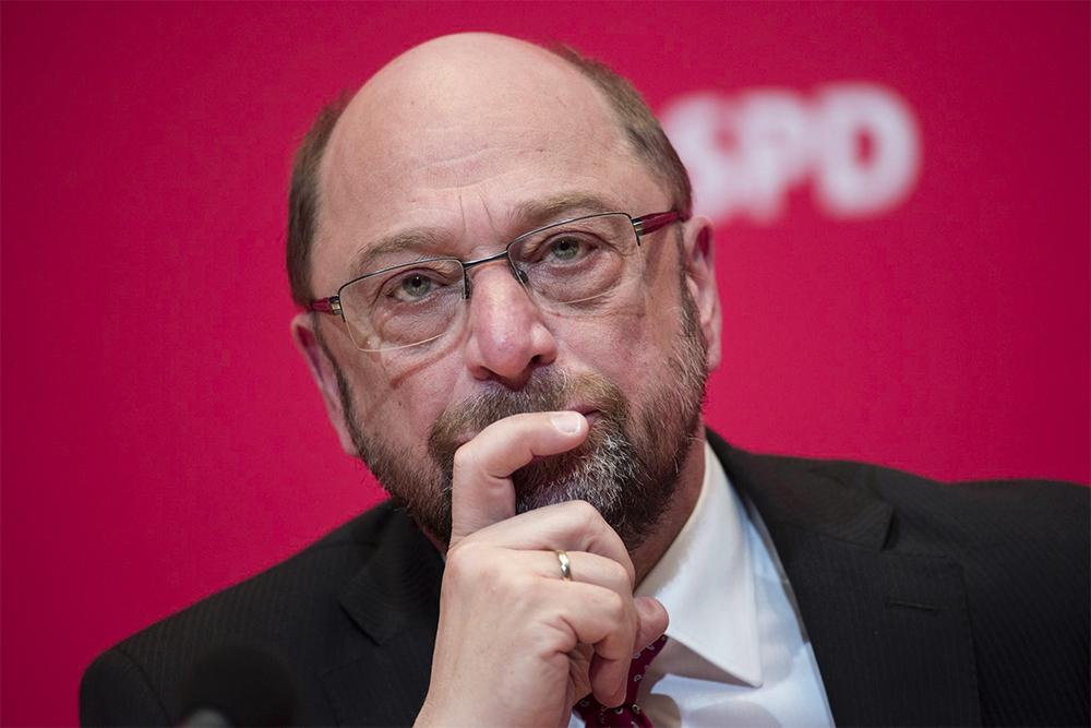 Martin Schulz mulls grand coalition