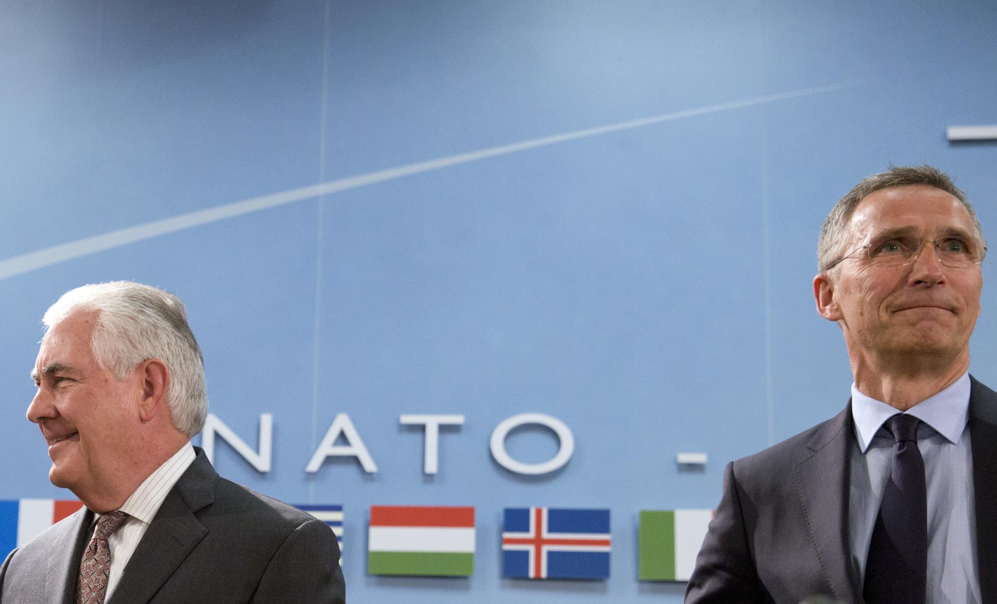 NATO Tillerson