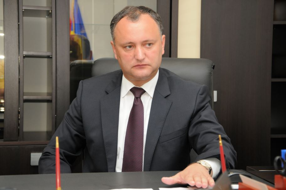 Moldova's new president visits Moscow