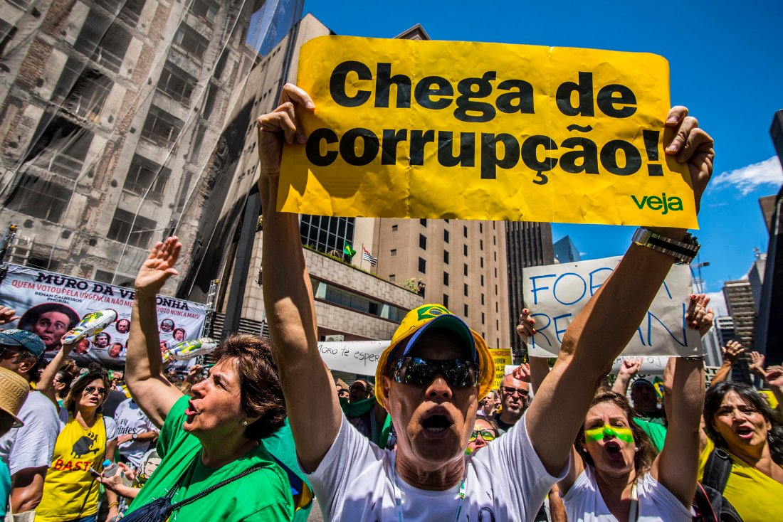 United against corruption? Protests in Brazil
