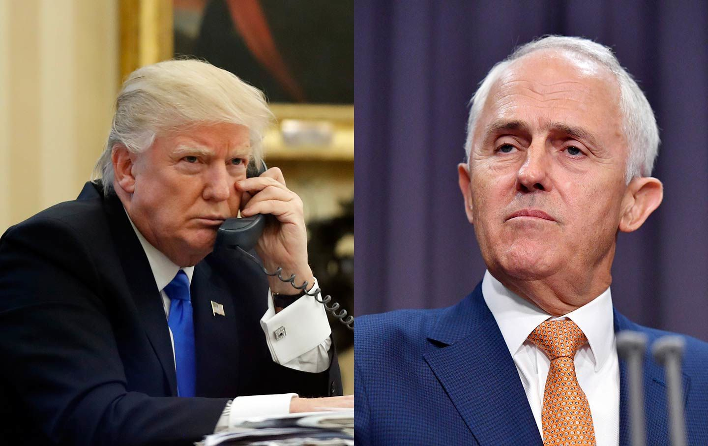 Winning over the president: Turnbull meets Trump